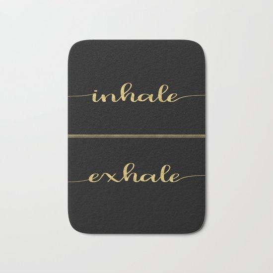 Inhale Greatness Bath Mat