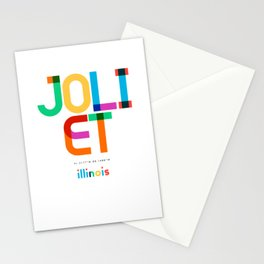 Joliet Illinois Mid Century, Pop Art, Stationery Cards