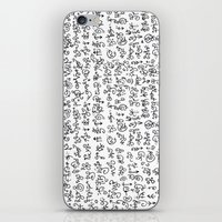 code iPhone & iPod Skins featuring Code by nefos