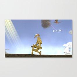 War Stars: Golden Boy Canvas Print