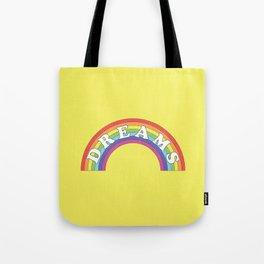 Rainbow Dreams Tote Bag