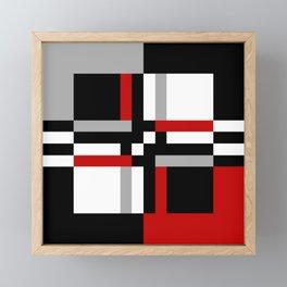 Geometric pattern 7 Framed Mini Art Print