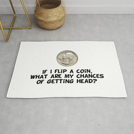 Flip a Coin Rug