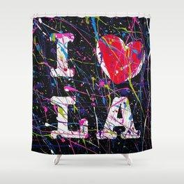 I Love L.A. Shower Curtain