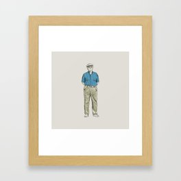 Abuelo Framed Art Print