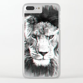 King of Kings Clear iPhone Case