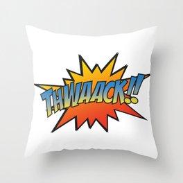 Thwaack!! Throw Pillow