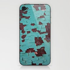 A Peeling Paint iPhone & iPod Skin