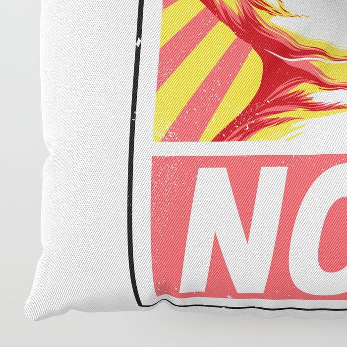 Obey Cats Floor Pillow