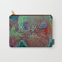 Collaged New Mite Carry-All Pouch