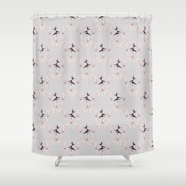 Heliconias Shower Curtain