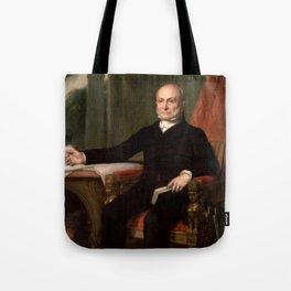 President John Quincy Adams Painting Tote Bag