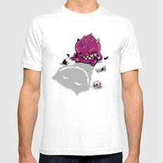 Little Guy White SMALL Mens Fitted Tee