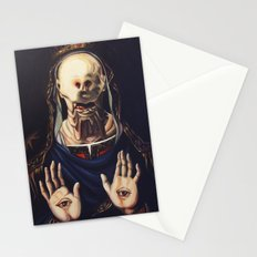 Pale Man With Crown Stationery Cards
