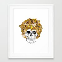 afro Framed Art Prints featuring Afro by dogooder