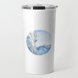 Rock Climbing Travel Mug