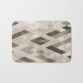 Abstract Pattern in Subtle Bath Mat