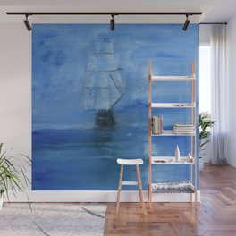Ghost Ship Wall Mural