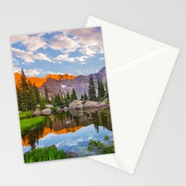 Mystic Island Lake Stationery Cards