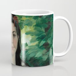"Auguste Renoir ""En été - La bohémienne (In summer - Gypsy woman)"" Coffee Mug"