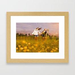 Wind. Framed Art Print