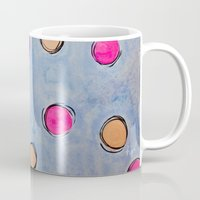dots Mugs featuring Dots by HollyJonesEcu