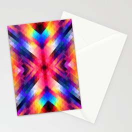 PSYCHO GEOMETRY Stationery Cards