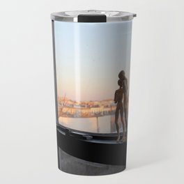 Androids in Bushwick Travel Mug
