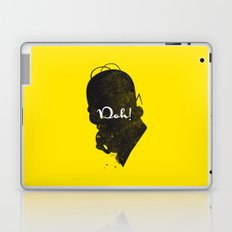 Doh – Homer Simpson Silhouette Quote Laptop & iPad Skin