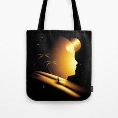 Golden Area Tote Bag