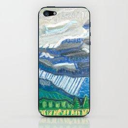 Rain in the Blueridge iPhone Skin