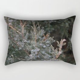 Thorny Green Rectangular Pillow