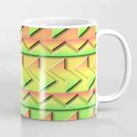 rio Mugs featuring Rio by Lyle Hatch