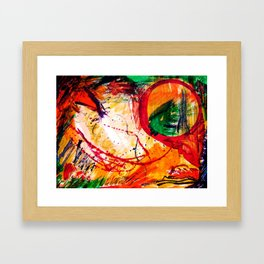 """Autumn-Tease"" II Framed Art Print"