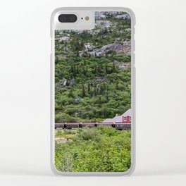 Railroad to the Yukon Clear iPhone Case