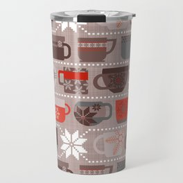 Snow Day Mugs - Chocolate Travel Mug