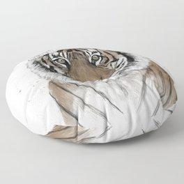 Siberian tiger Floor Pillow