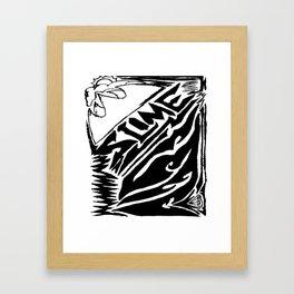 Slime Krown Framed Art Print