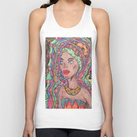 african Tank Tops featuring African by havana