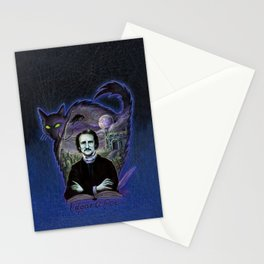 Edgar Allan Poe Gothic Stationery Cards