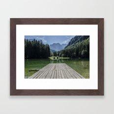 Mountain Masterpiece Framed Art Print