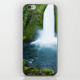 Wahclella Falls iPhone Skin