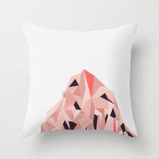 Mount Pios Right Throw Pillow