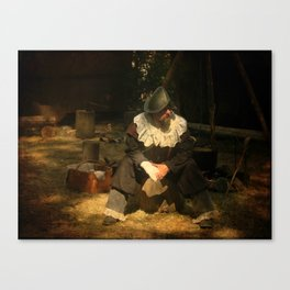 Lonely Soldier Canvas Print
