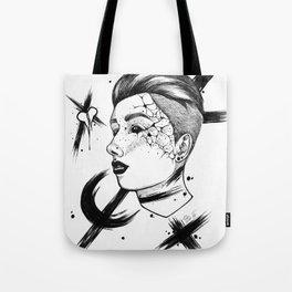 Paint Stroke Tote Bag