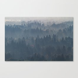 Hazy Layers Canvas Print