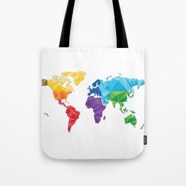 World of geometric concept design  Tote Bag