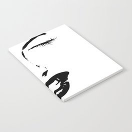 Boss Babe Face Outline Notebook
