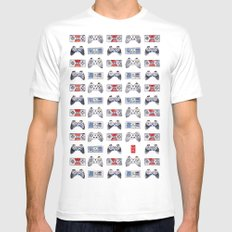 Games ME 2015 MEDIUM White Mens Fitted Tee