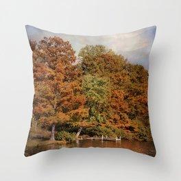 Autumn's Edge Throw Pillow